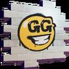 GG Smiley - Spray - Fortnite