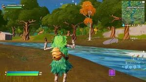 "LEAK SKIN ""BROUSSAILLE"" IN GAME SUR FORTNITE ! (Gameplay)"