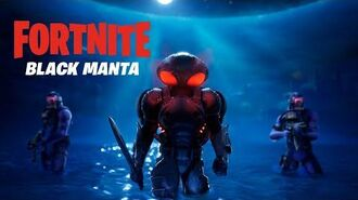 Black Manta est arrivé - Fortnite