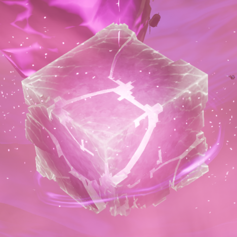 The Cube, right before exploding.