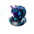 Fortnite Gefährte Kyo (Violett)