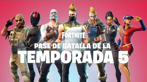 PASE DE BATALLA DE LA TEMPORADA 5 YA ESTÁ DISPONIBLE