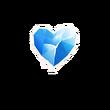 Icy Heart - Emoticon - Fortnite