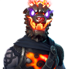 Molten Battle Hound - Outfit - Fortnite