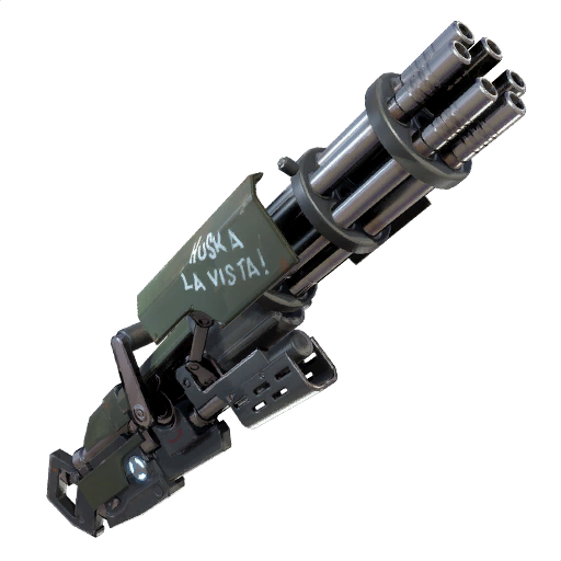 Minigun Fortnite Wiki Fandom