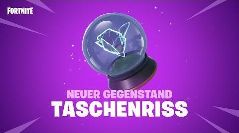 TASCHENRISS NEUER GEGENSTAND