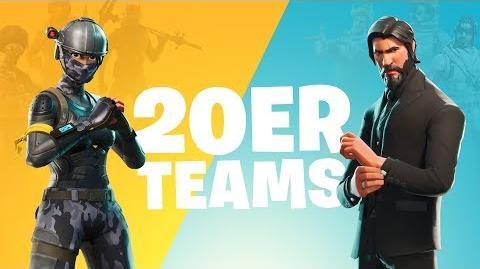5 Teams aus 20 Ankündigungs-Trailer (Battle Royale)