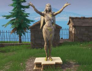 Statue Fendeuse de Cœurs