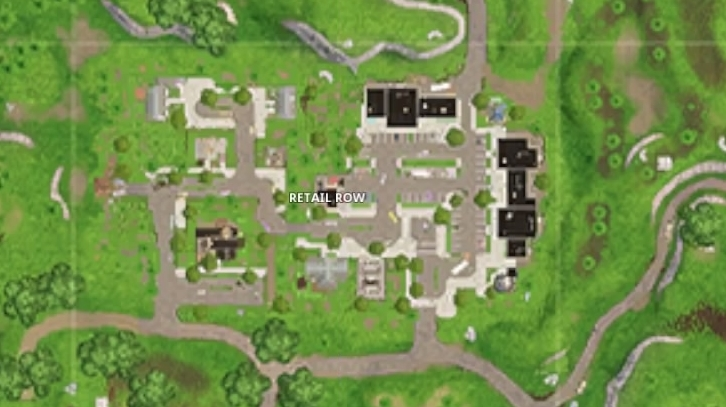 New Retail map