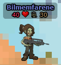 Zombie skin on player