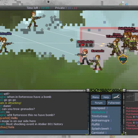 Official gameplay screenshot from facebook group