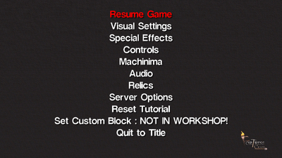 Pause Menu | Fortresscraft Wiki | FANDOM powered by Wikia