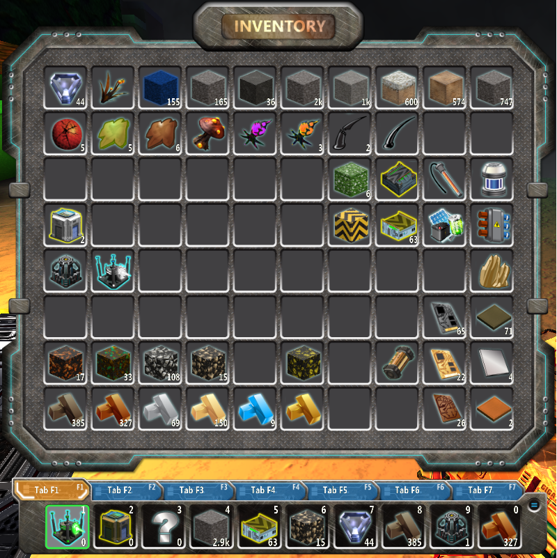 Inventory Fortresscraft Evolved Wiki Fandom Powered By