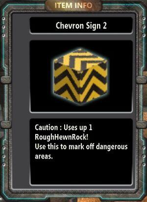 Chevron Sign 2