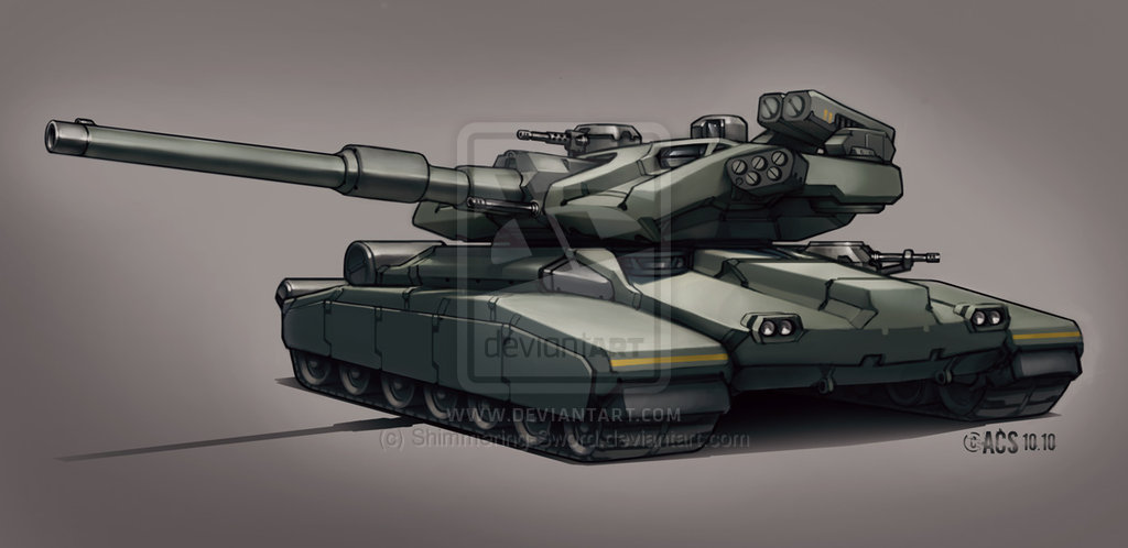 Contact Main Battle Tank By Shimmering Sword D31665r