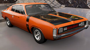 The 1972 Chrysler VH Valiant Charger R/T E49 in Forza Horizon 3