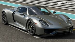The 2014 Porsche 918 Spyder in Forza Motorsport 7