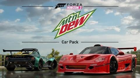 Forza Horizon 3 - Mountain Dew Car Pack