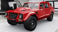 FH4 Lambo LM 002 Front