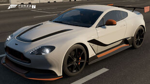The 2016 Aston Martin Vantage GT12 in Forza Motorsport 7