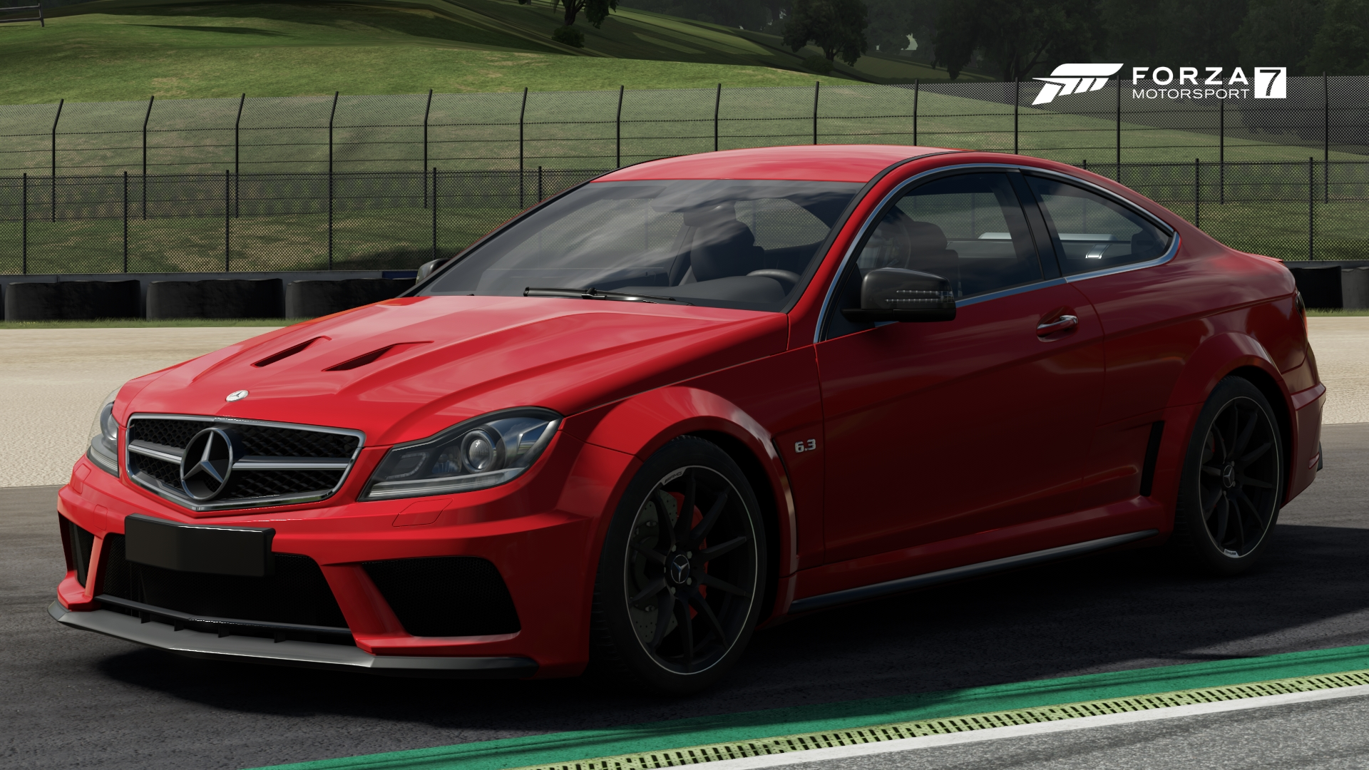 Mercedes benz c 63 amg coup black series forza for Mercedes benz motorsport