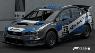 The 2016 Subaru #75 WRX STI VT15R Rally Car in Forza Motorsport 7