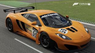 The 2011 McLaren #59 McLaren GT 12C GT3 in Forza Motorsport 7