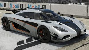 The 2015 Koenigsegg One:1 in Forza Motorsport 7