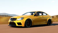 FH2 Mercedes C63AMG BlackSeries