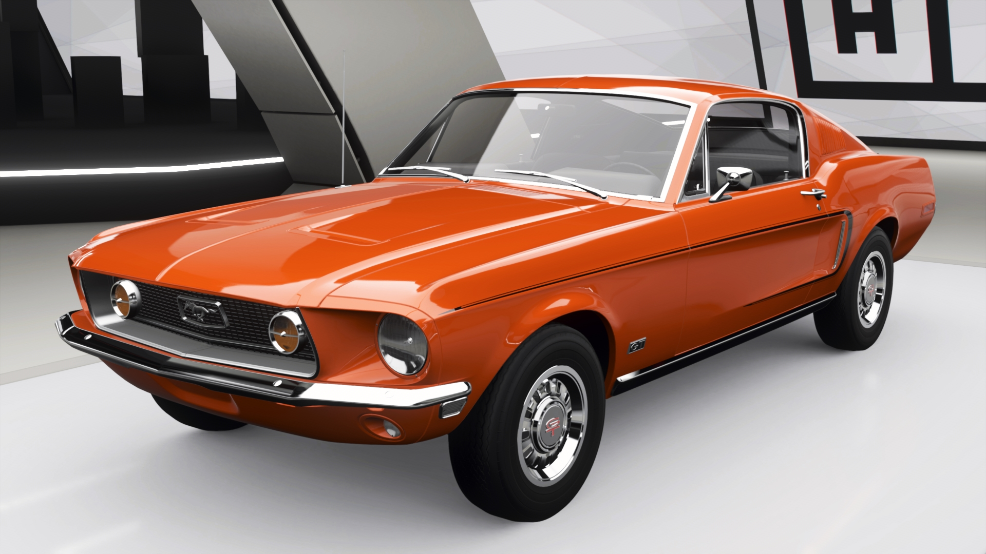 Ford mustang 2 2 fastback in forza horizon 4