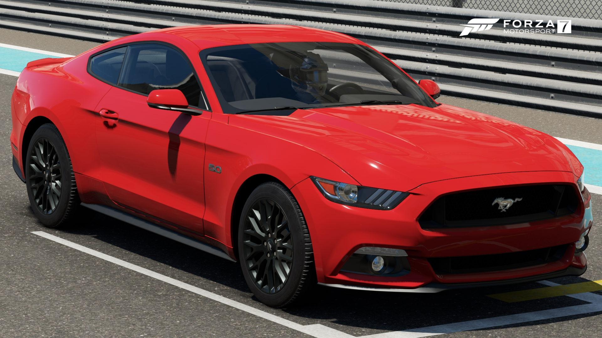 Ford mustang gt in forza motorsport 7
