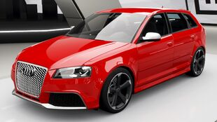 Audi RS 3 Sportback in Forza Horizon 4