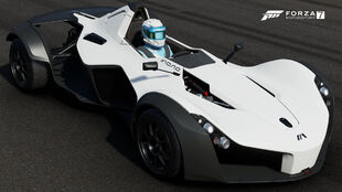 The 2014 BAC Mono in Forza Motorsport 7
