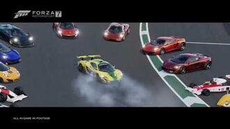 Forza Motorsport 7 McLaren Trailer Promotional