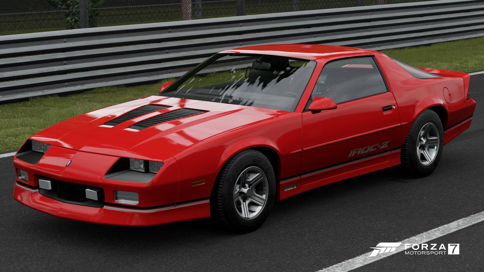 Forza Horizon 3 Car List >> Chevrolet Camaro IROC-Z | Forza Motorsport Wiki | FANDOM ...