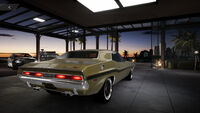 FS Dodge Challenger 70 Rear
