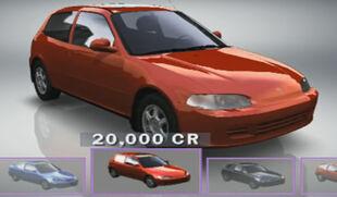 Honda Civic Si in Forza Motorsport.
