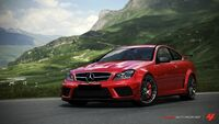 FM4 Mercedes C63AMG BlackSeries