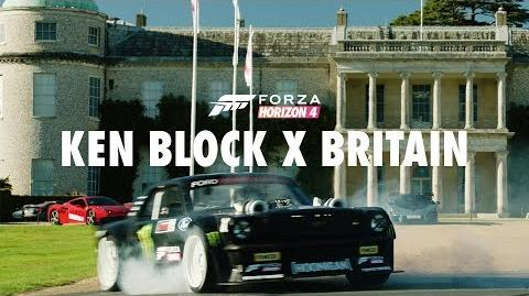 Forza Horizon 4 Presents Ken Block VS Britain