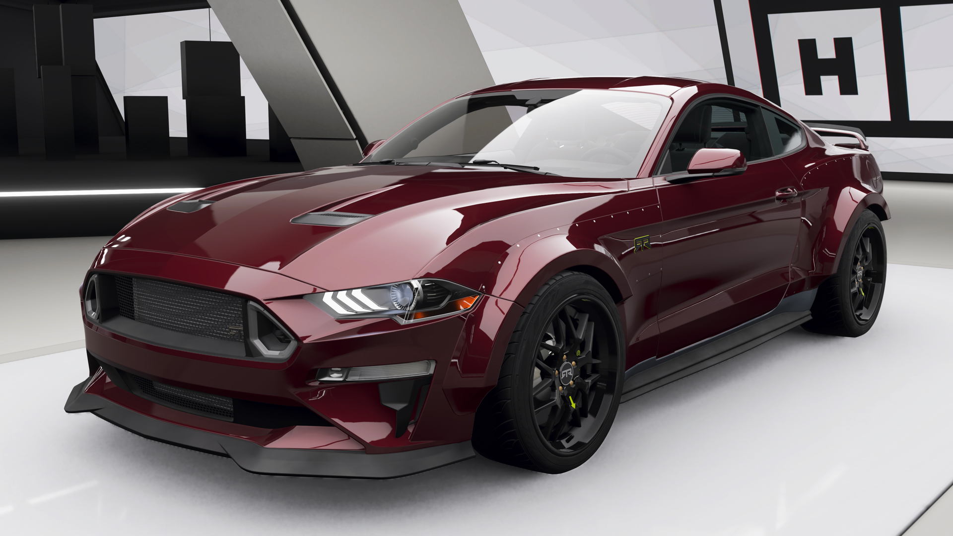 Ford mustang rtr spec 5 in forza horizon 4