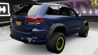 FH4 Jeep GC Trackhawk Upgrade Rear