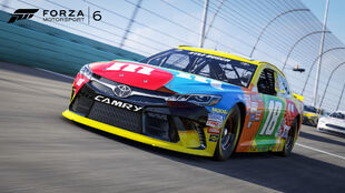 2016 Toyota #18 Joe Gibbs Racing M&M's Camry in Forza Motorsport 6
