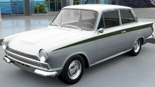 The Ford Lotus Cortina in Forza Horizon 3