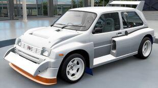 The 1986 MG Metro 6R4 in Forza Horizon 3