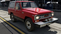 FM7 Nissan Safari Front
