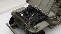 FH4 Willys MB Jeep Engine