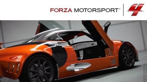 Forza 4 1080p Spyker C8 Laviolette LM85 Autovista