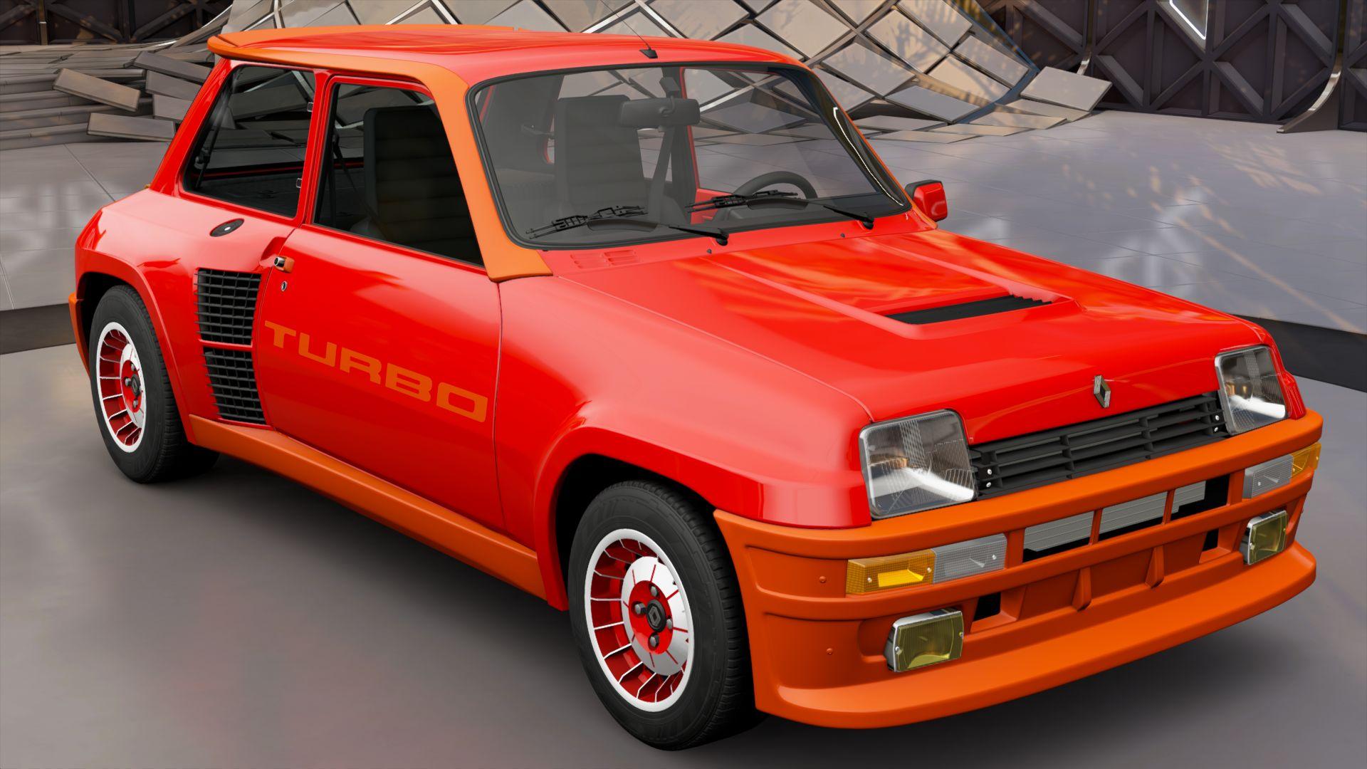 Renault 5 Turbo Forza Motorsport Wiki Fandom Powered By Wikia 1 6 Engine Layout