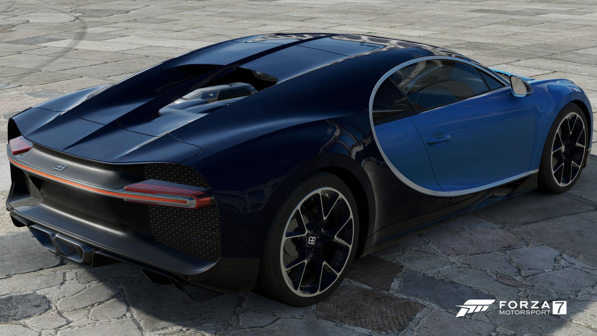 FM7 Bugatti Chiron Rear