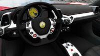 FH3 Ferrari 458 Interior